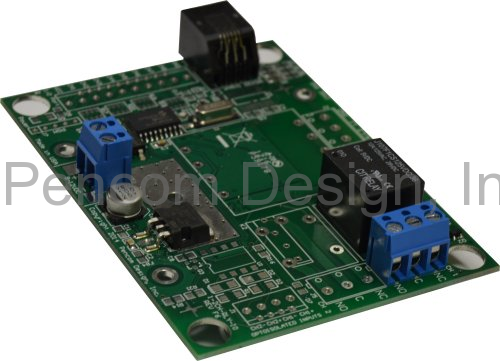 1 Channel RS232 Relay Board w/DC Terminal Block